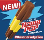 An American original has gone bananas. The popular Banana Fudge Bomb Pop(TM) is now available in retail stores nationwide. #BananaFudgeYea