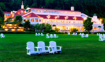 Mission Point Resort on Mackinac Island, Mich.