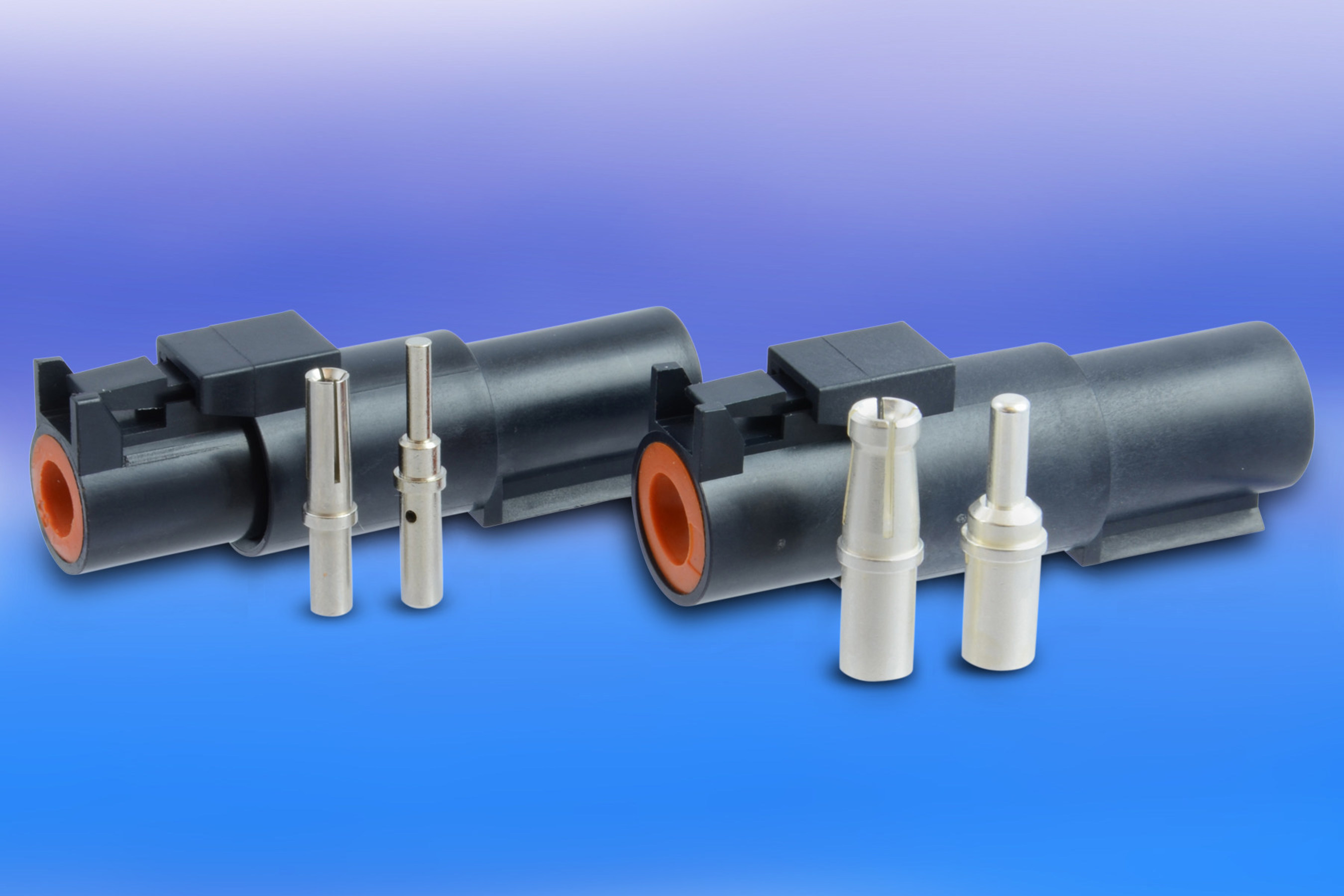 New Heavy Duty Connector Series from Amphenol for Size 8 and Size 12 Power Contacts Offer Higher Power (PRNewsFoto/Amphenol Industrial Products)