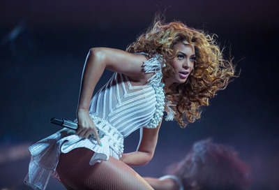 """The """"Mrs. Carter Show World Tour"""" Starring Beyonce - Barclays Center show added on December 22nd, tickets on sale Monday, August 12th. (PRNewsFoto/Live Nation Entertainment, Photo by Yosra El-Essawy.) (PRNewsFoto/LIVE NATION ENTERTAINMENT)"""