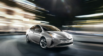 Hertz Mexico adds the all-new Toyota Prius to its fleet in Mexico City in support of sustainable mobility.