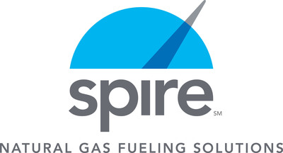 Inaugural Spire Natural Gas Fueling Station Opens in St. Louis, MO.  (PRNewsFoto/The Laclede Group, Inc.)