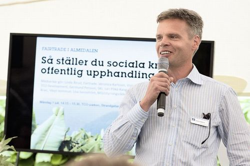 TCO Development CEO Sören Enholm wants IT buyers to demand socially responsible manufacturing practices of major computer brands.