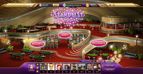 Las Vegas's Famed Stardust Returns with New Stardust Casino Game on Facebook.  (PRNewsFoto/Win)