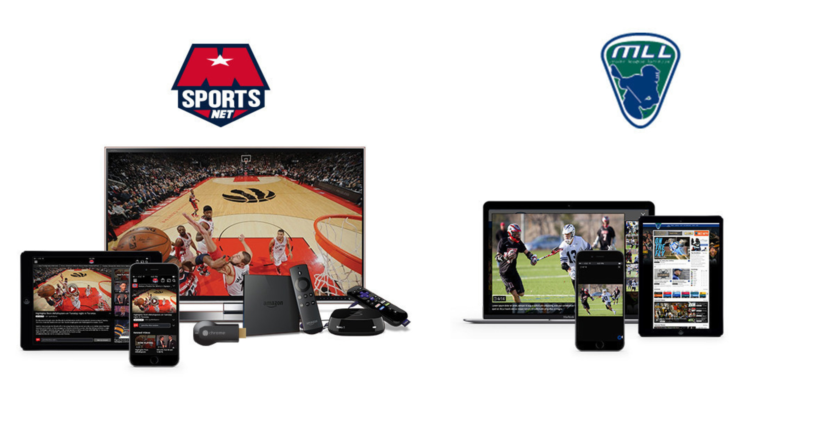 ViewLift Launches 32 Sports Digital Properties for Monumental Sports Network and Major League Lacrosse