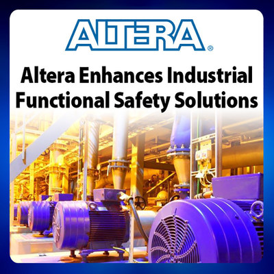 Altera FPGAs and IP on partner NewTec's board deliver factory safety solution