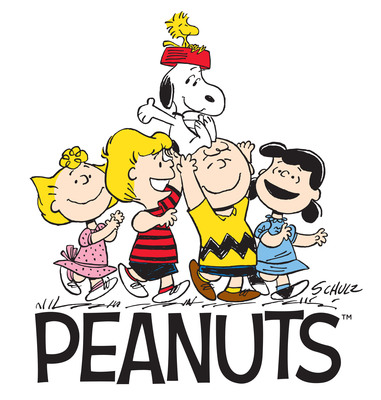 Charles Schulz's Beloved Peanuts Gang To Hit Theaters In 2015.  (PRNewsFoto/Iconix Brand Group, Inc.)