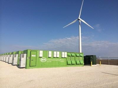 Invenergy's Grand Ridge Storage facility in LaSalle County, Illinois.