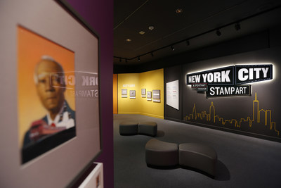 National Postal Museum Art Exhibition Offers Vibrant and Colorful Portrait of New York City