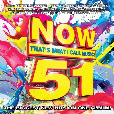 NOW That's What I Call Music!, Vol.51 to be released August 5.