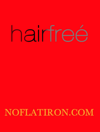 hairfree says it's time you stop damaging your hair with flat/curling irons. The solution - hairfree ...