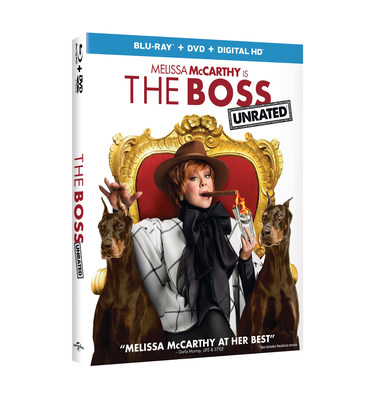 From Universal Pictures Home Entertainment: The Boss