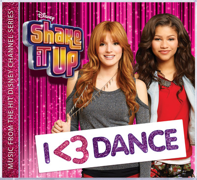 SHAKE IT UP: I <3 DANCE SOUNDTRACK.  (PRNewsFoto/Walt Disney Records)
