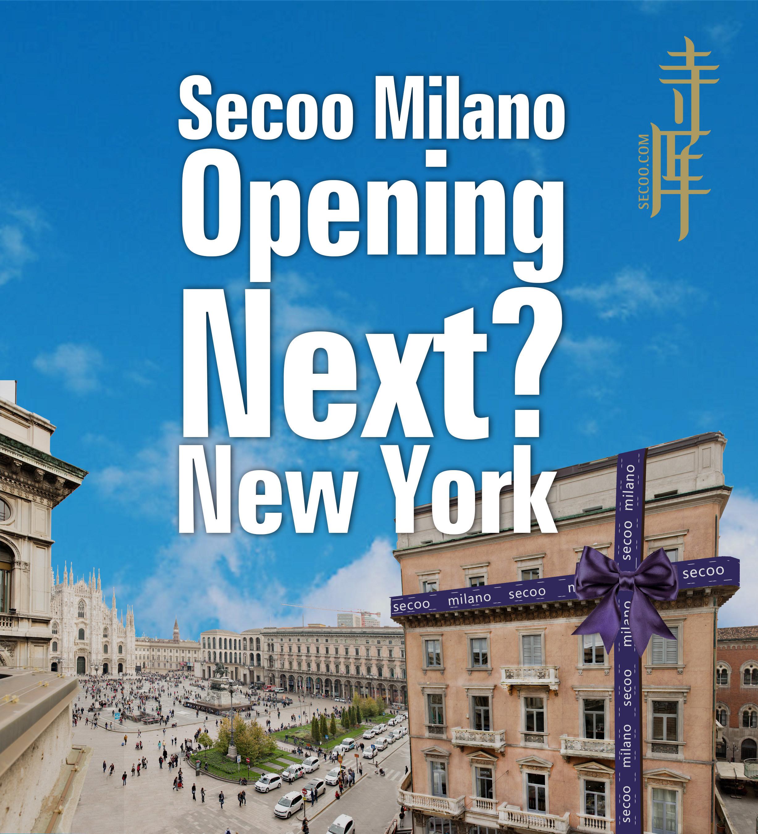 SECOO in Mailand bietet ein grenzübergreifendes Erlebnis