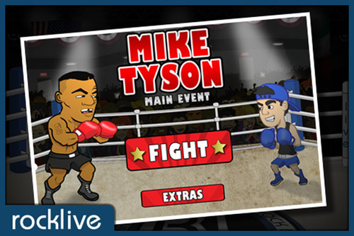 RockLive Launches Mike Tyson - Main Event Mobile Game for iOS Platform