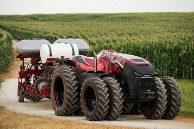 Tractor autónomo Case IH Autonomous Concept