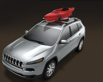 Mopar offers more than 100 products to customize the all-new 2014 Jeep Cherokee.  (PRNewsFoto/Chrysler Group LLC)