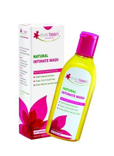 Everteen Natural Intimate Wash (PRNewsFoto/Wet & Dry Personal Care Pvt Ltd)