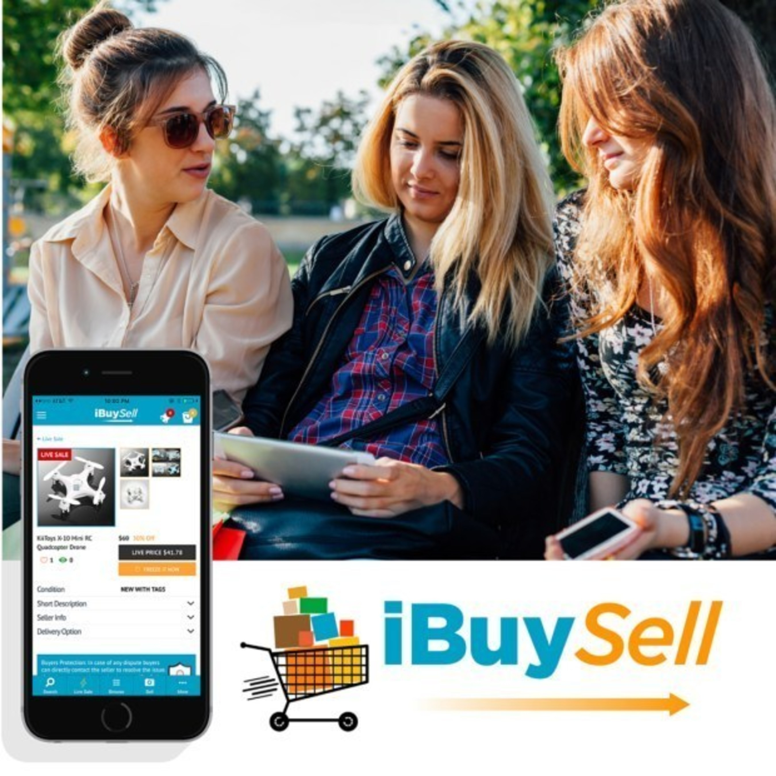 iBuySell - Real-Time Mobile and Online Marketplace That Turns Shopping to a Thrilling Competition