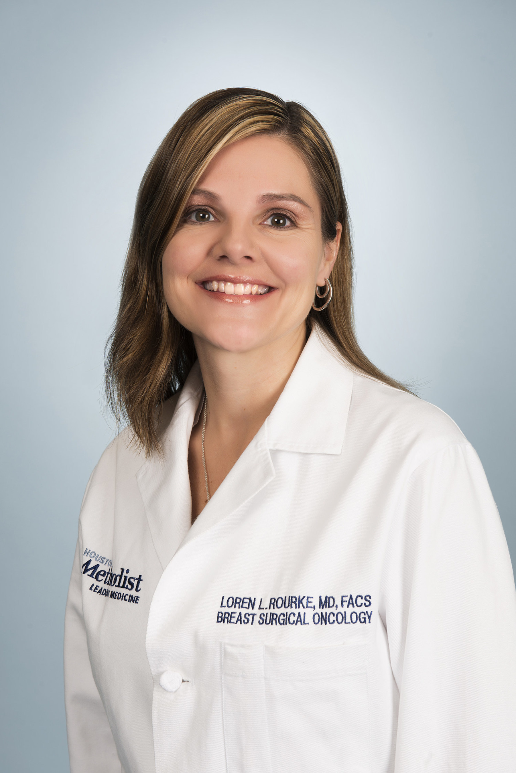 Loren Rourke, MD, FACS, breast surgical oncologist and director of Houston Methodist Regional Breast Program