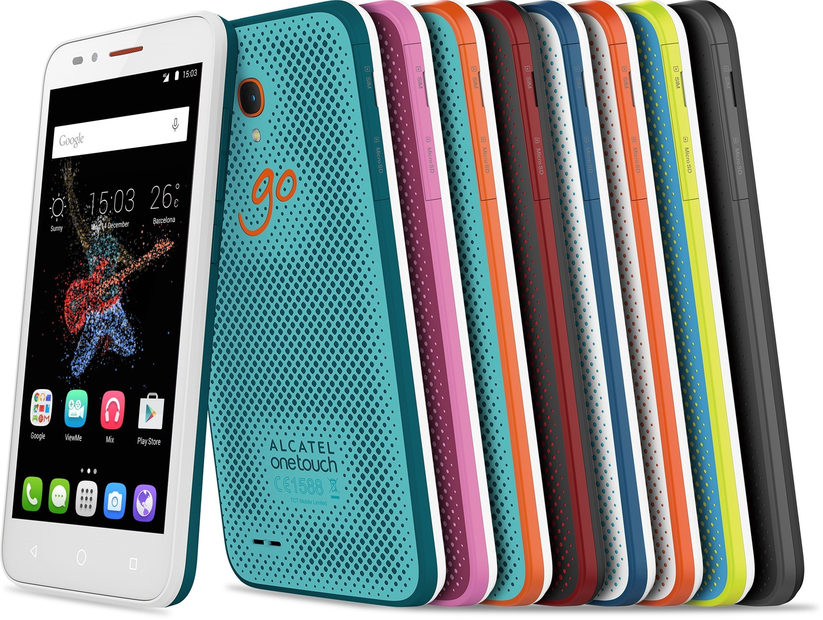 ALCATEL ONETOUCH Introduces the Brand New GO Family