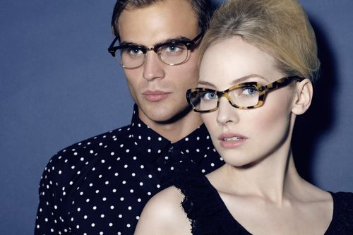 Image from PEL's new online luxury eyewear brand myOptique.com (launched on 7th December 2012)