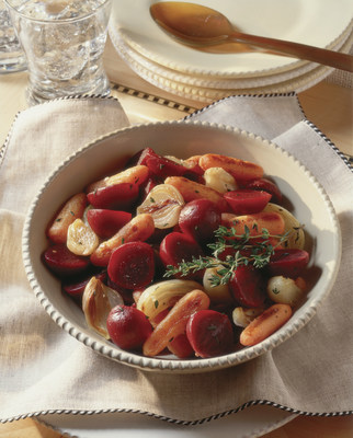 Photo courtesy of Seneca Foods Thyme-Scented Roasted Vegetables and Beets