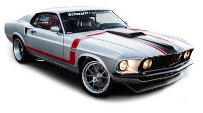 Restored Raybestos 1969 Mustang Revealed