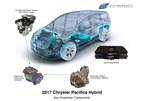 2017 Chrysler Pacifica Hybrid powertrain