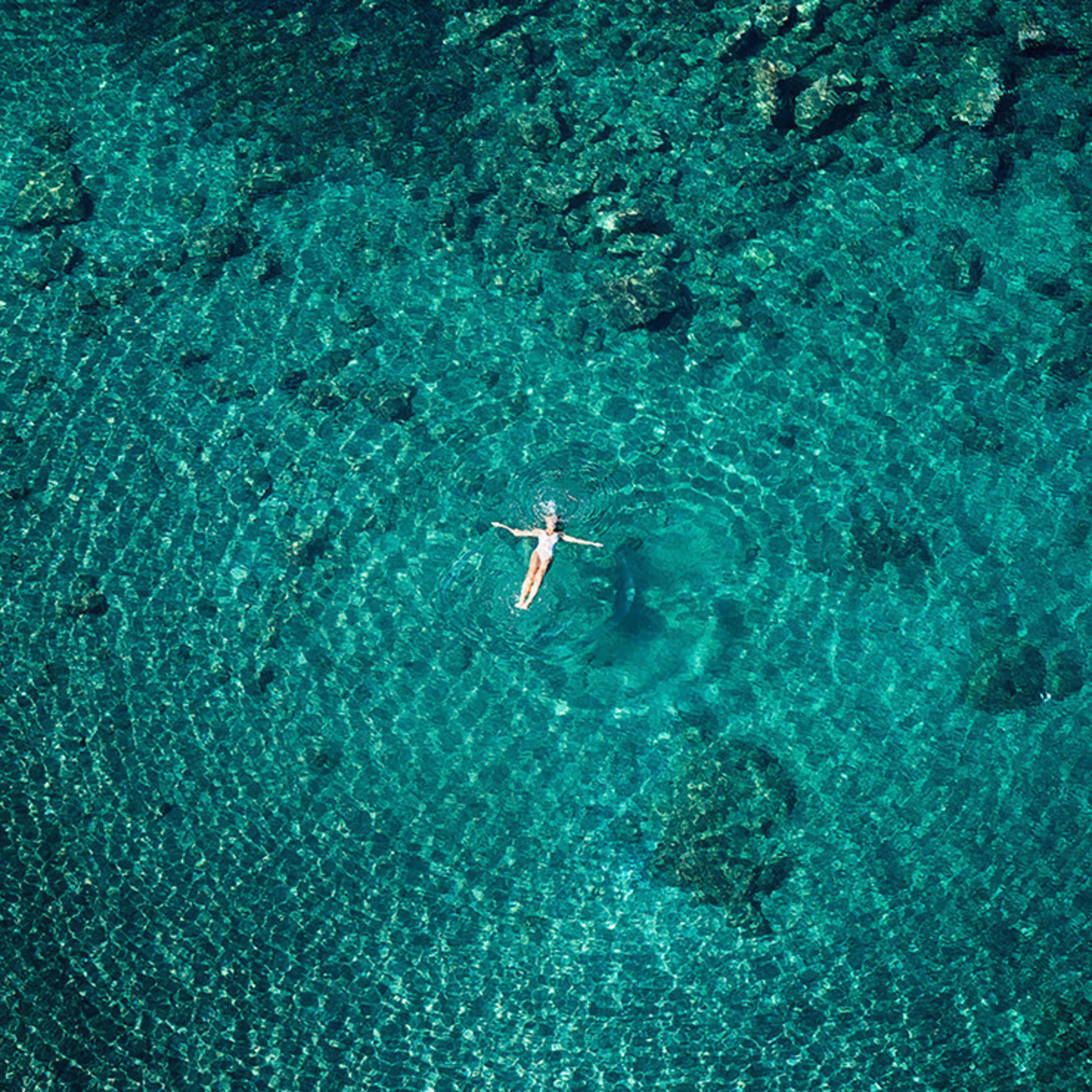 David Drebin (B. 1966 - ) Floating Dreams, 2016, Lightbox, 60 x 60 inches