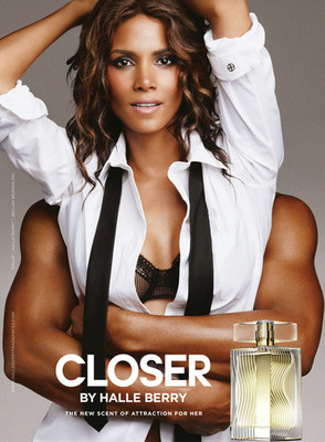 Halle Berry invites you to get closer... Introducing The New Scent Of Attraction For Her