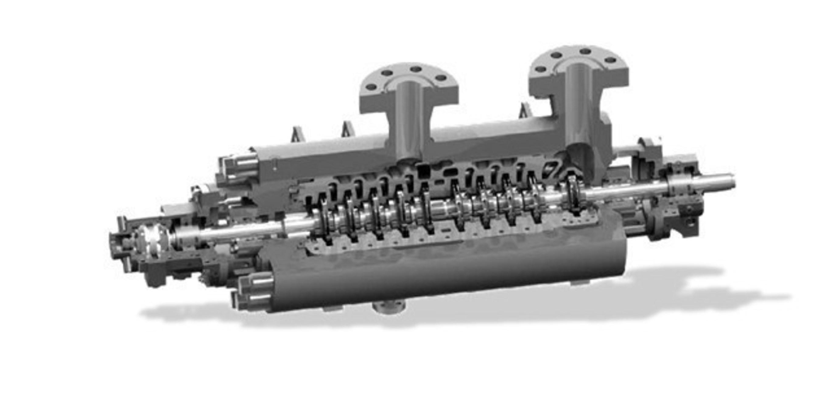 La turbine hydraulique d'hydrogénation de résidus haute température développée de manière