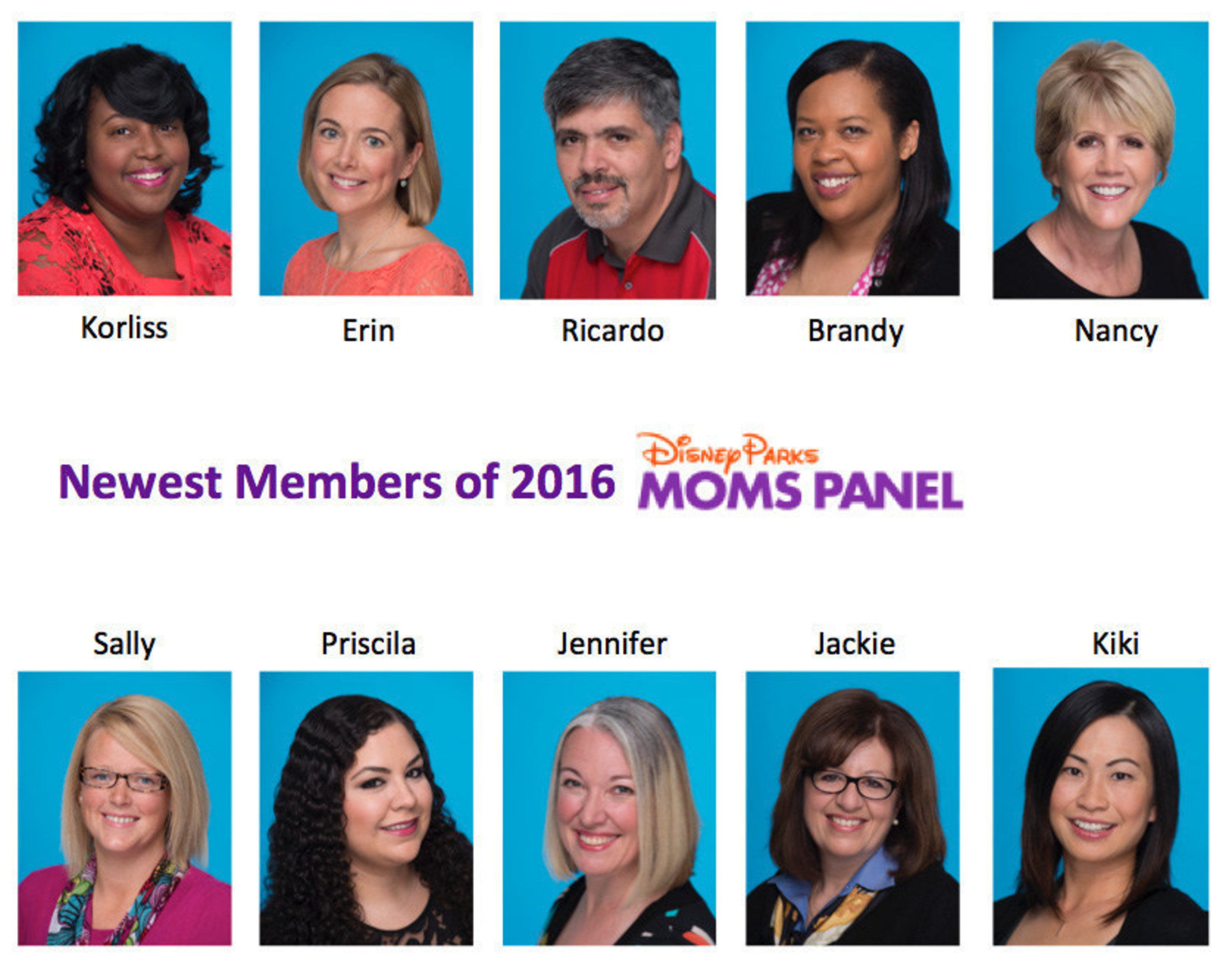 Newest Members of the 2016 Disney Parks Moms Panel