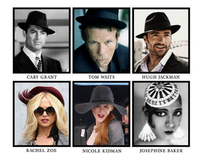 The Headwear Association (THA) has announced the inductees for the 2013 Headwear Hall of Fame.  This year's honors go to Tom Waits, Hugh Jackman, Rachel Zoe and Nicole Kidman. Cary Grant and Josephine Baker will be inducted posthumously. For a look at previous Headwear Hall of Fame inductees visit The Headwear Association online at http://www.theheadwearassociation.org/news.  (PRNewsFoto/The Headwear Association)
