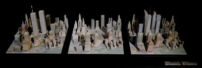New York City Fire Museum Showcases Highly Detailed Ground Zero Model, Created with Z Corporation 3D Printer