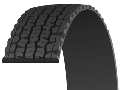 MICHELIN(R) MD XDN(R) 2 Pre-Mold(TM) retread -- a drive-position retread optimized for food and beverage, parcel package, and pick-up and delivery applications.