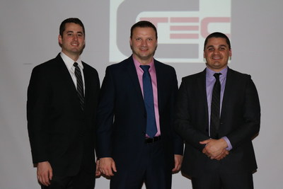 Rutgers student David Talarico and Antoni Milewski and Ryan Annibali, new graduates of the Rutgers MBA program, won $50,000 to help fund a new business around Talarico's novel wind-harnessing device.
