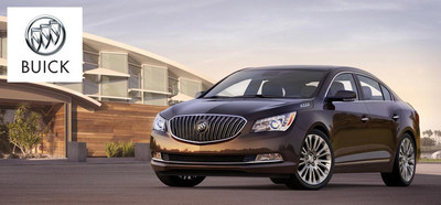 The 2015 Buick LaCrosse gives shoppers at Palmen Buick GMC Cadillac in Kenosha WI an impressive array of entertainment and convenience features. (PRNewsFoto/Palmen Buick GMC Cadillac)