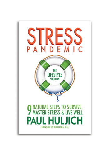 Lifestyle and stress expert Paul Huljich shares 9 natural steps to overcome stress in his new book,