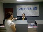 Nuevas oficinas de United en el Centro Financiero Invercasa en Managua.  (PRNewsFoto/United Continental Holdings, Inc.)