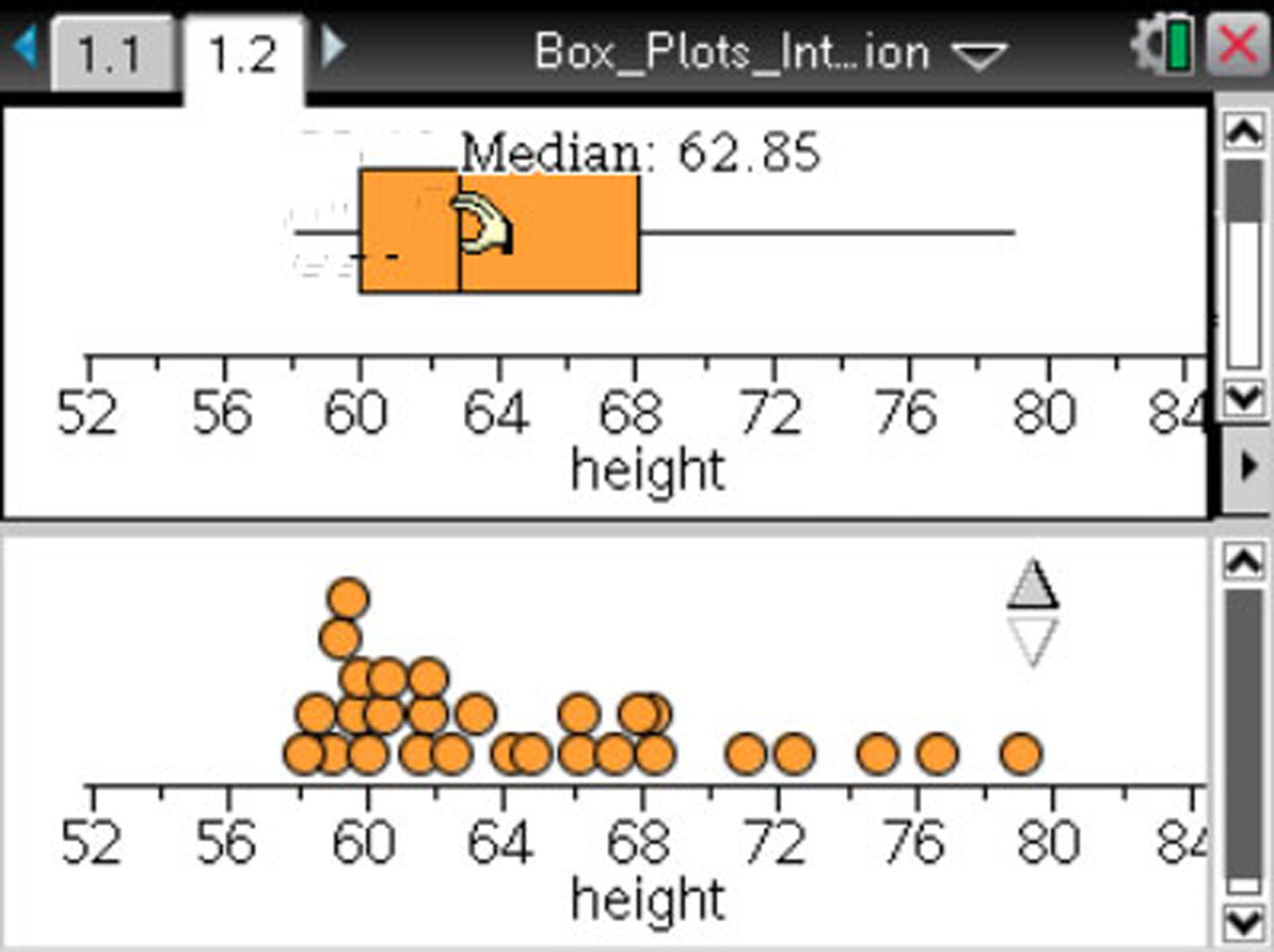 NCTM and TI unveil a series of activities to help teachers explore new math standards, like representing and analyzing data with boxplots.