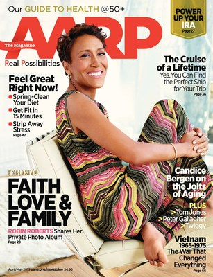 Cover of AARP The Magazine's April/May Issue