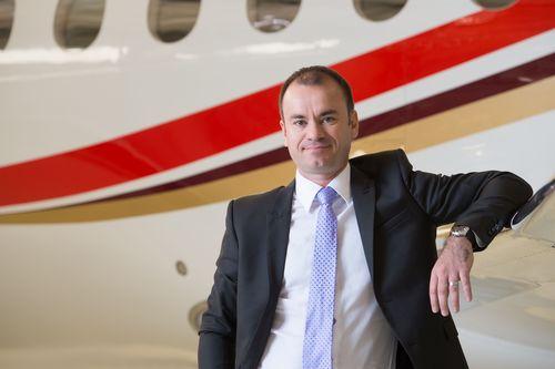 Arnaud Paulmier, head of Dassault Falcon Jetâeuro(TM)s new operational support team (PRNewsFoto/Dassault Aviation)