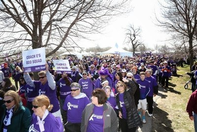 Participants make stride at PurpleStride Chicago 2014