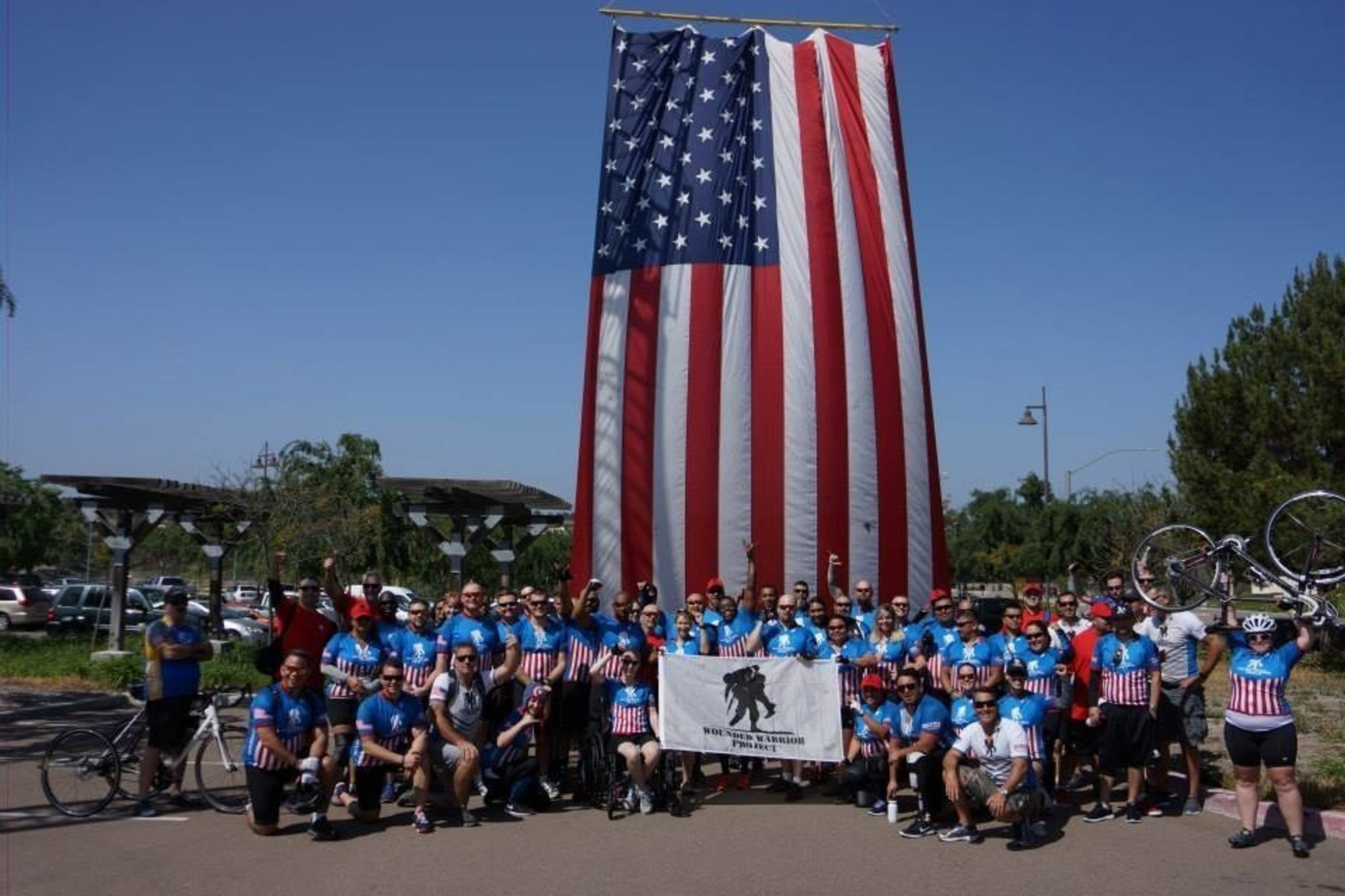 Wounded Warrior Project Alumni hit the road in San Diego.