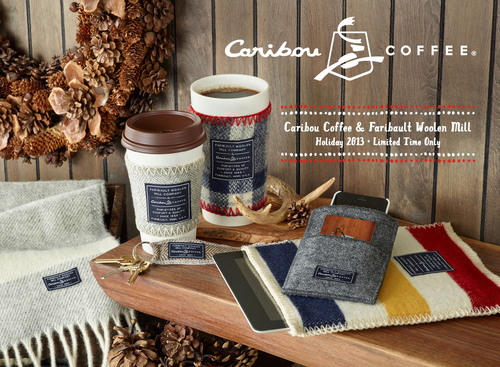 This holiday season, Caribou Coffee will be partnering for the first-time-ever with the iconic Faribault Woolen  ...