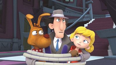 Everyone's favorite bumbling bionic detective, Inspector Gadget, is back with an all new series premiering on Netflix. Photo Credit: DHX Media