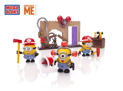 MEGA Brands Inc. announced a multi-year global partnership with Universal Partnerships & Licensing (UP&L) to develop a new kids construction line based on the Despicable Me franchise from Universal Pictures and Illumination Entertainment. The Mega Bloks Despicable Me line will hit shelves in December 2014. (PRNewsFoto/MEGA Brands Inc.)