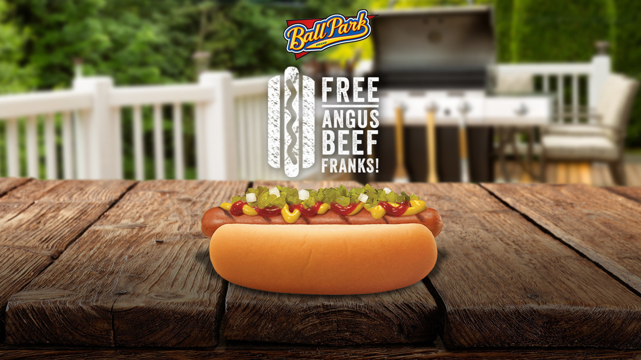 Free Ball Park Angus Beef Franks! Change your name to Angus or Frank on Twitter, follow @BallParkBrand & use #BallParkAngusGiveaway.