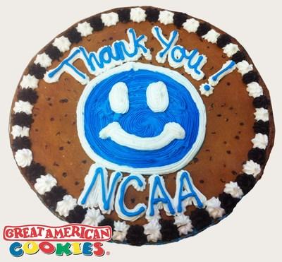 Great American Cookies Applauds NCAA Ruling in Favor of Icing. (PRNewsFoto/Great American Cookies) (PRNewsFoto/Great American Cookies)